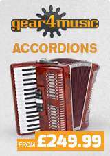 Gear4music Accordions