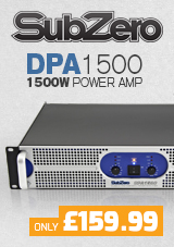 SubZero DPA1500 1500W Power Amp