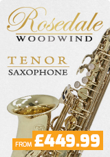 Rosedale Tenor Saxophones from £449.99