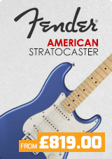 Fender American Stratocasters from £819.00