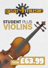 Gear4music Student Plus Violins from £63.99