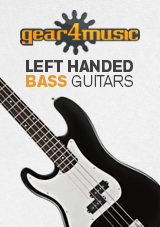 Gear4music Left Handed Bass Guitars