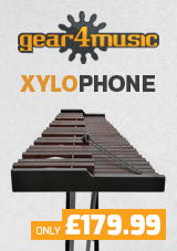 Xylophone by Gear4music, Rosewood
