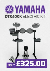 Yamaha DTX400K with Accessories