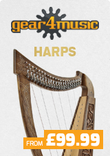 Gear4music Harps