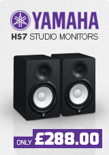 Yamaha HS7 Active Studio Monitors (Pair) with Free Stands