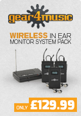 Gear4music Wireless In Ear Monitor System Pack
