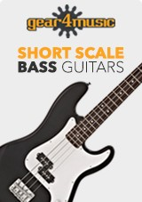 gear4music Short Scale Basses