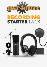 gear4music Recording Starter Pack