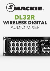Mackie DL32R Wireless Digital Audio Mixer